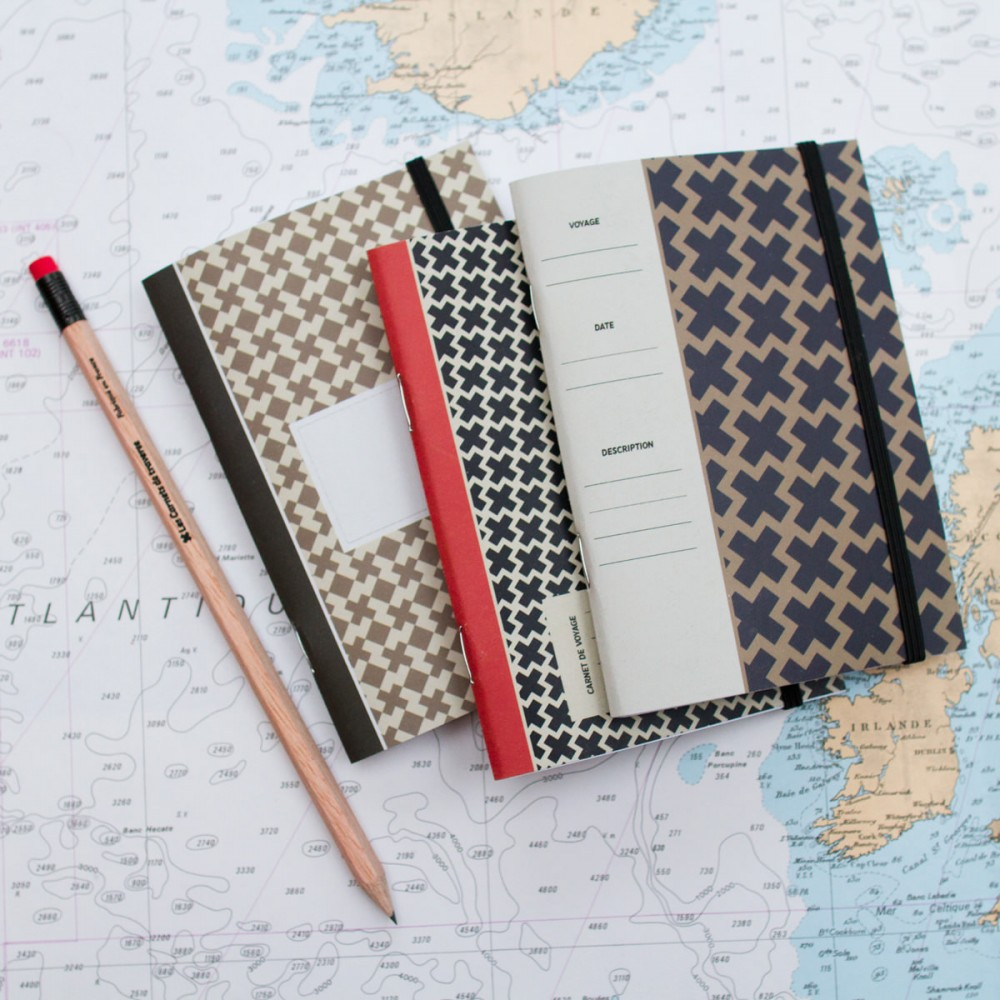 Pin carnet de notes 196 on pinterest - Carnet de voyage papeterie ...