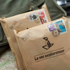 Coffret cadeau voyage : Sac & carnets