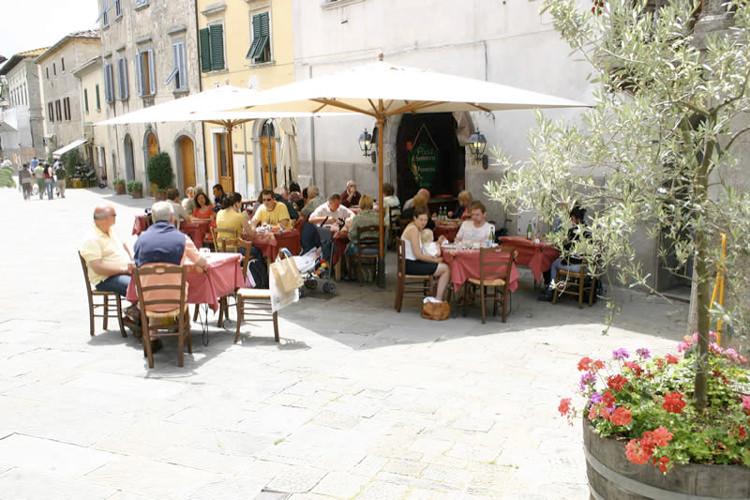 Pizzeria Il Fondaccio, la terrasse