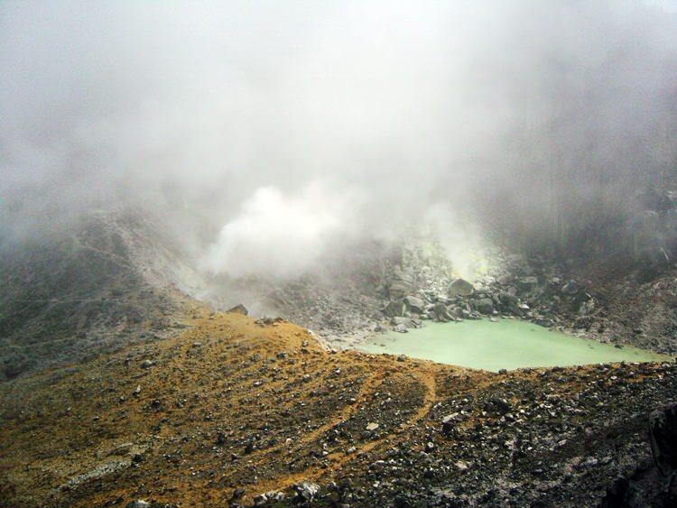 Le volcan Sibayak