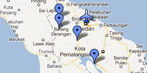 Itinéraires de 3 semaines à Sumatra