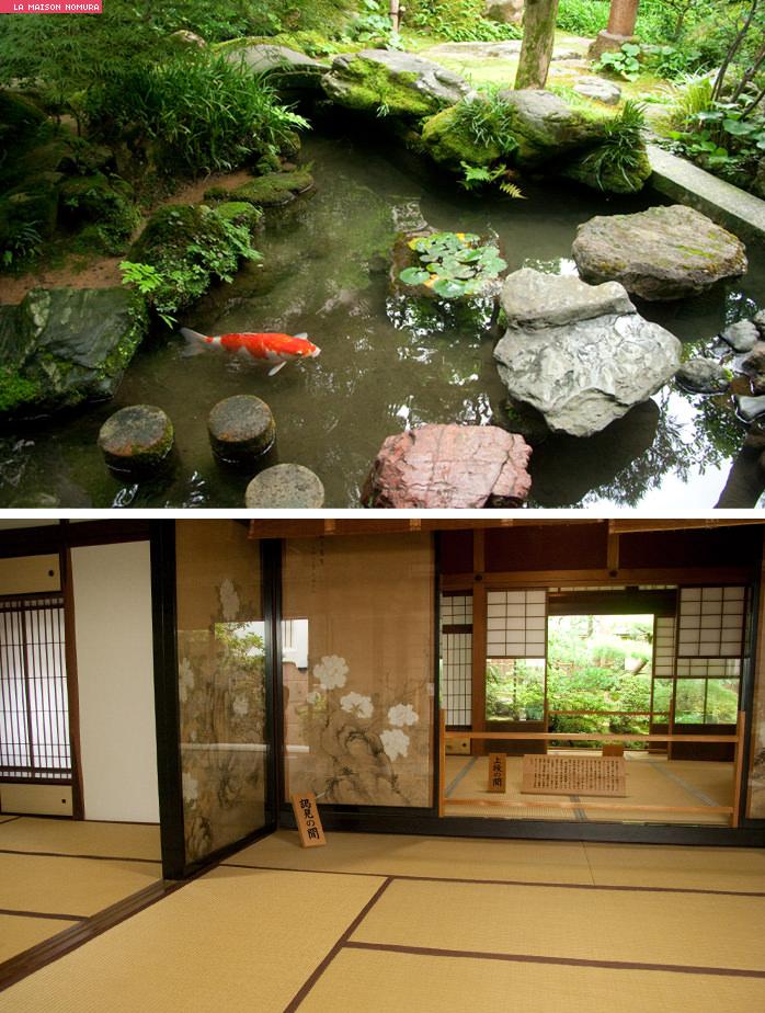 Jardin japonais interieur maison for Jardin japonais maison