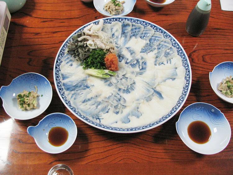 Sashimi de fugu, Shimonoseki