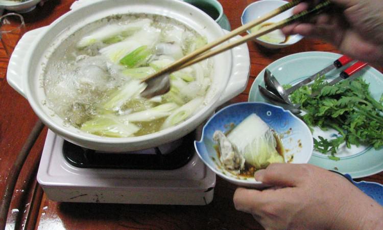 Fondue de fugu, Shimonoseki