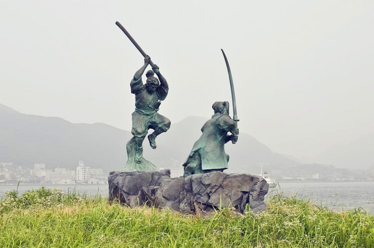 Ganryu-jima, Shimonoseki, Japon