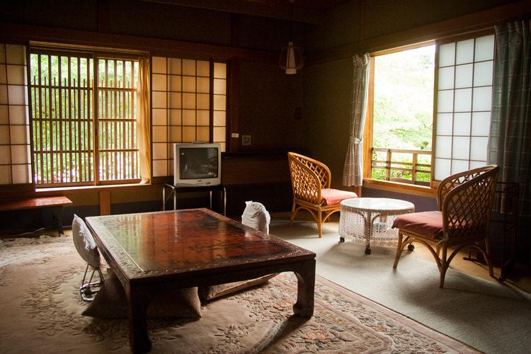 Ryokan Rikiya, chambre