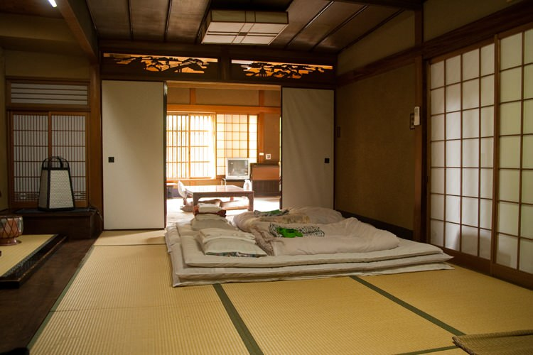 le ryokan rikiya kyoto japon blog voyage et photo. Black Bedroom Furniture Sets. Home Design Ideas