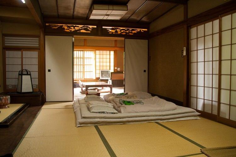Le ryokan rikiya kyoto japon blog voyage et photo carnets de traverse for Chambre japonaise traditionnelle