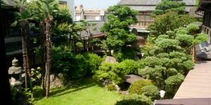 Seikanso Ryokan, le jardin