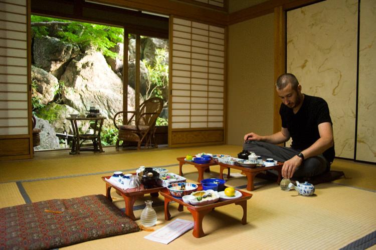 Ekō-in, le repas