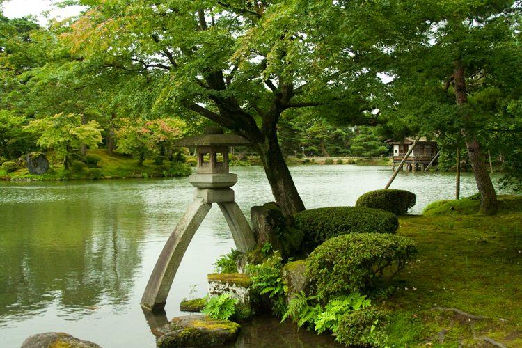 Le jardin kenrokuen kanazawa japon blog voyage et for Jardin kenrokuen