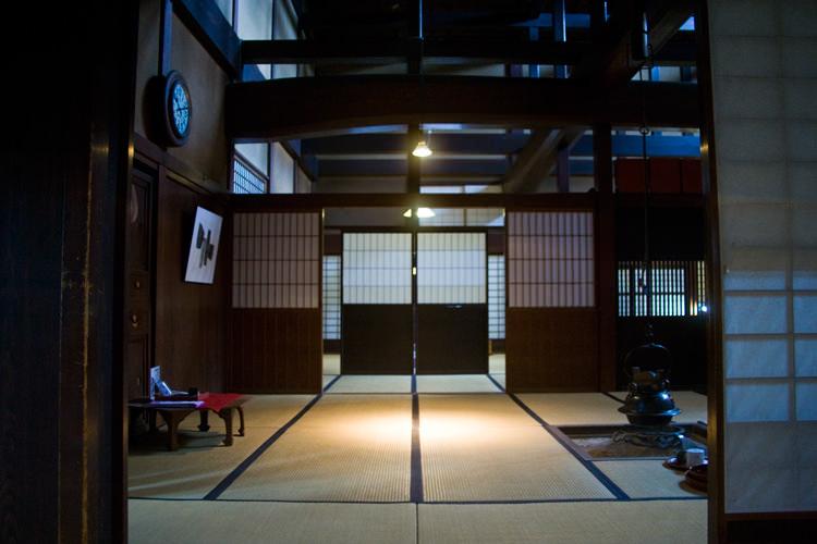 maison japonaise traditionnelle int rieur. Black Bedroom Furniture Sets. Home Design Ideas