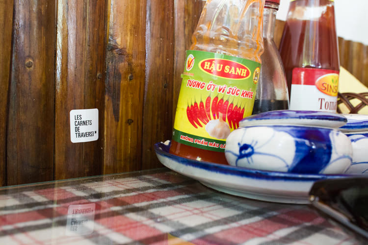Mermaid restaurant, sticker