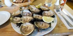 Assiette d'huîtres irlandaises