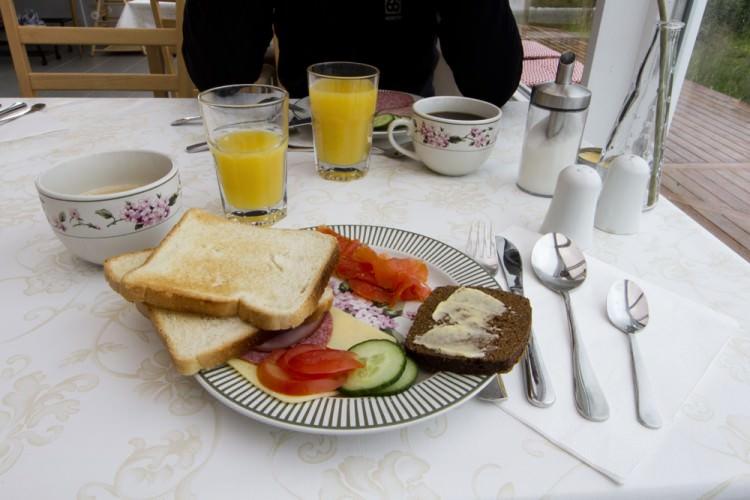 Petit déjeuner islandais