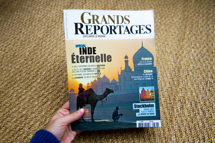 Grands Reportages, avril 2012