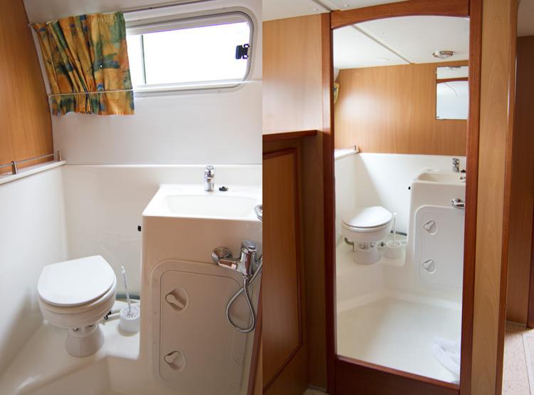 Tarpon 42 Trio Prestige, salles de bain