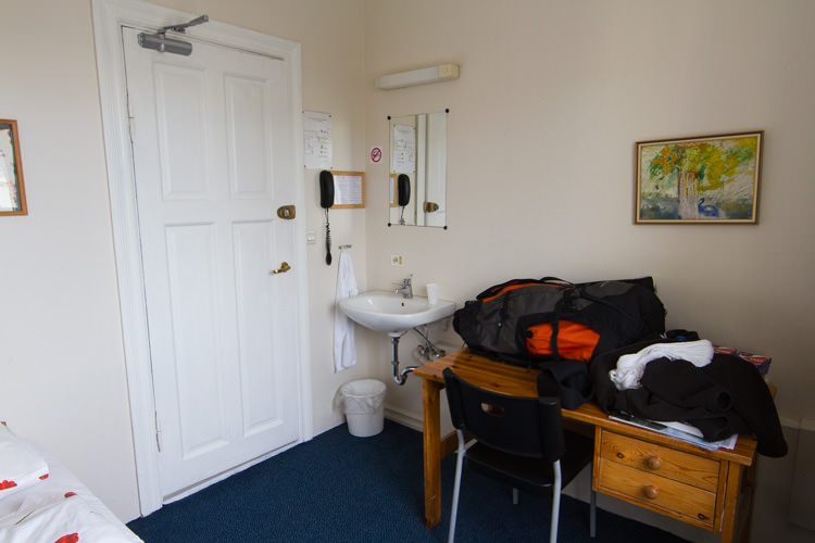 Salvation Army Guesthouse, room