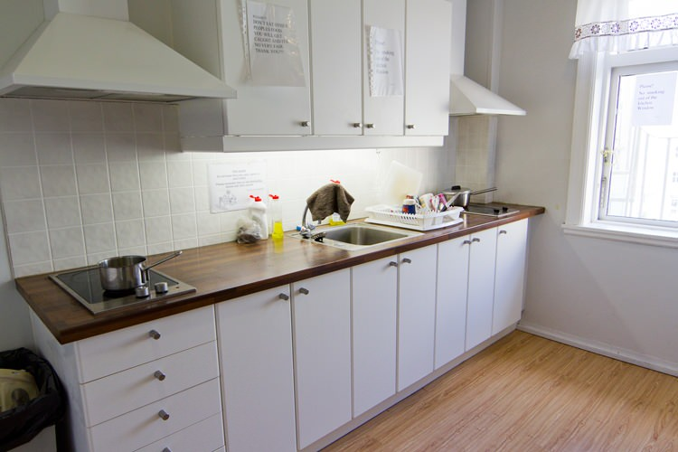 Salvation Army Guesthouse, kitchen