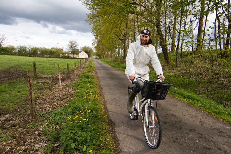 Croisière fluviale, vélo