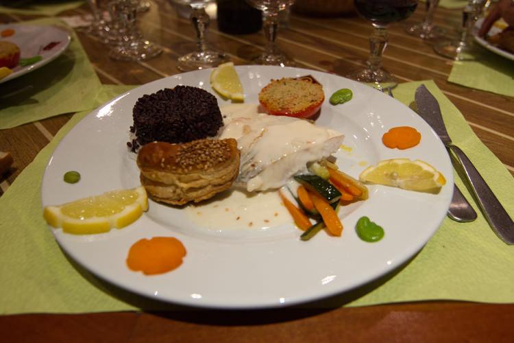 Sandre au Crémant de Bourgogne