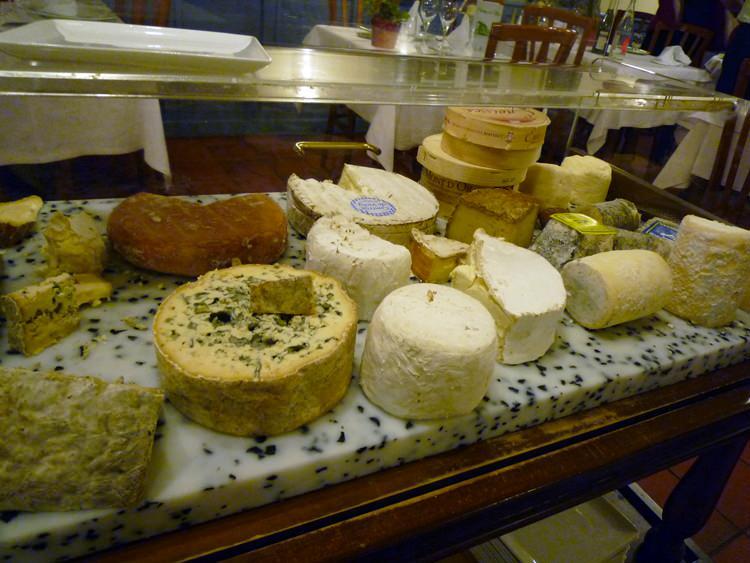 Auberge de l'Olive, fromages