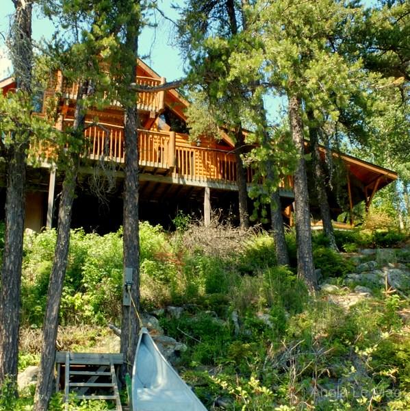 Un chalet de r ve au canada blog voyage et photo carnets for Annonceur maison du canadien