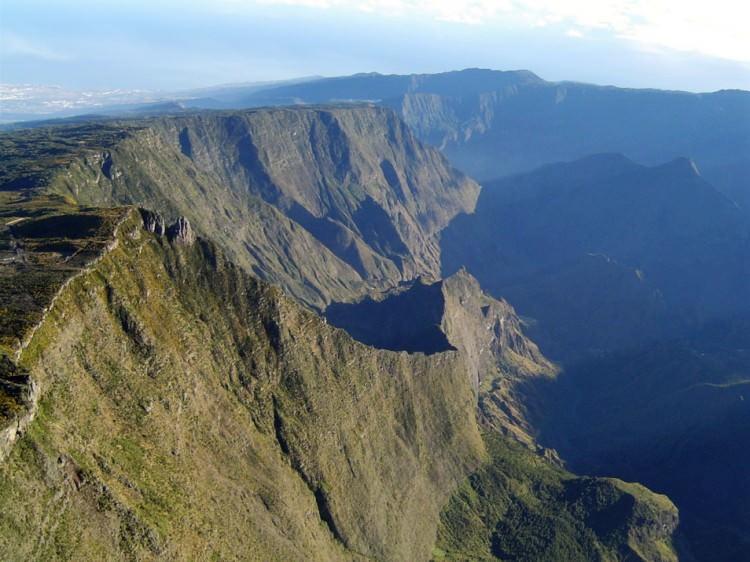 La Réunion en ULM, le Maido