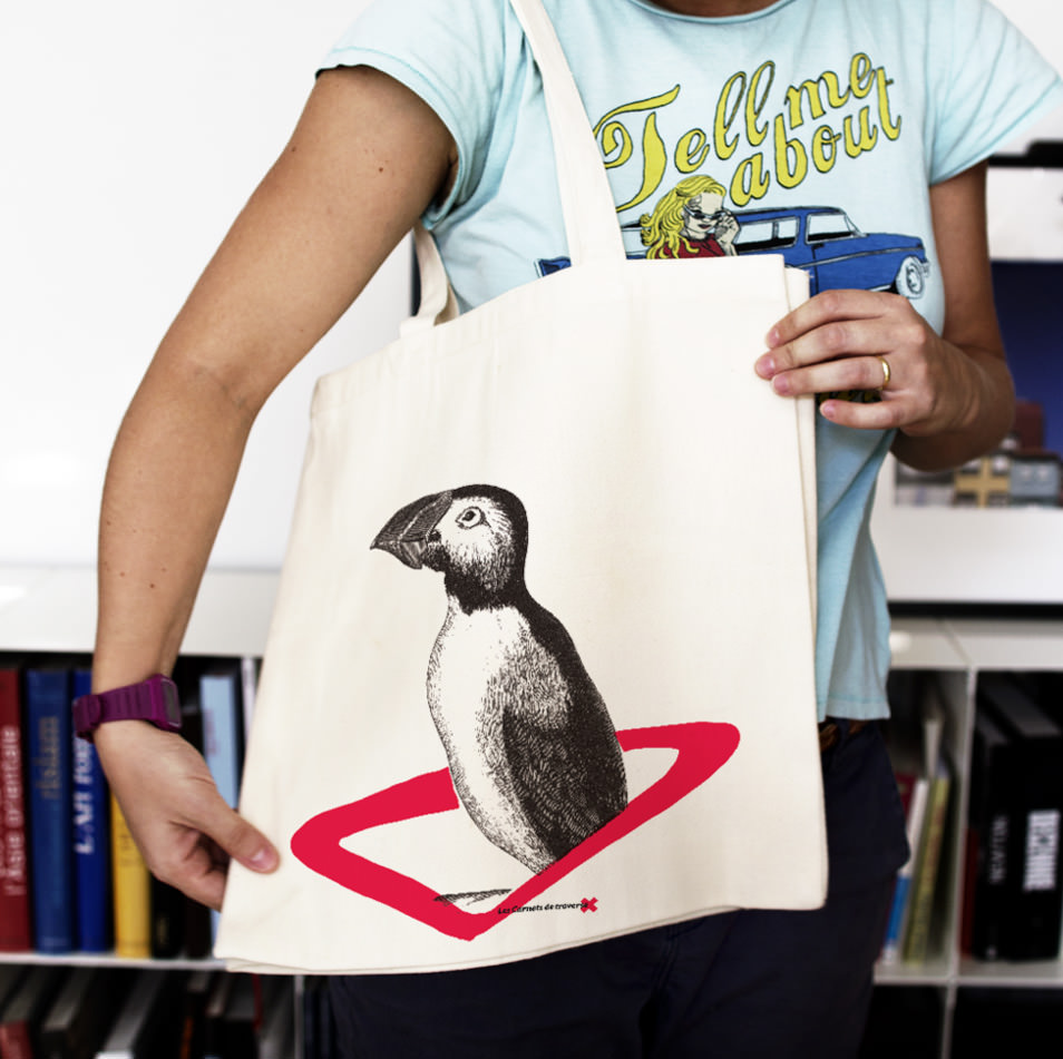Sac explorateur : le puffin