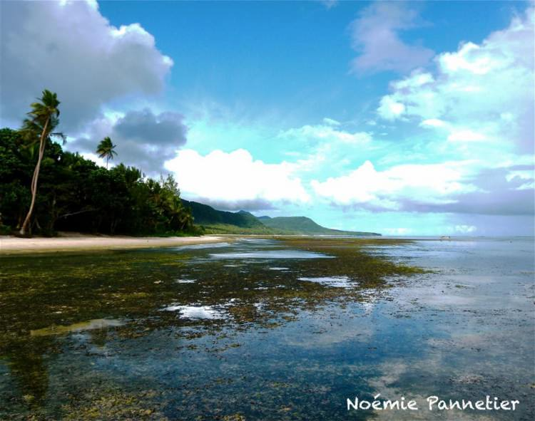 Paysage paradisiaque de Mota Lava, Banks, Vanuatu