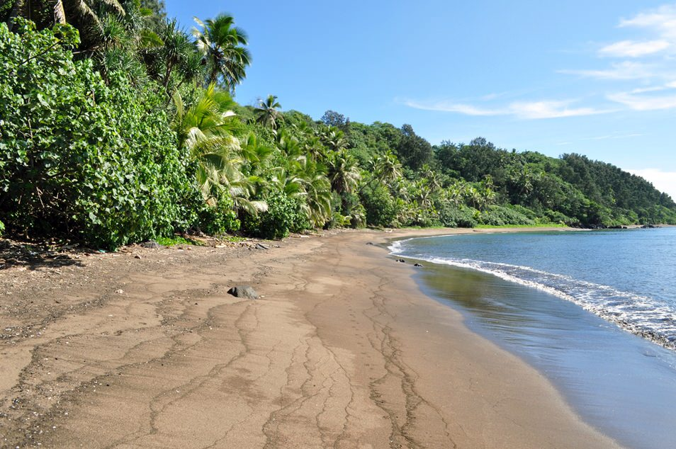 Isolated beach, Tanna Island, Vanuatu