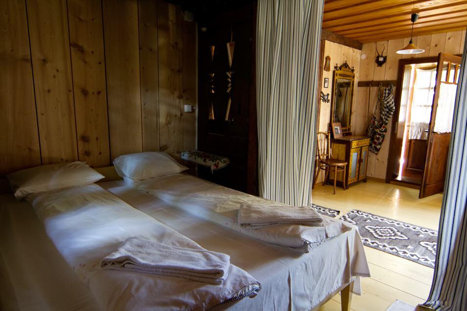 Casa du Cerbi, la chambre
