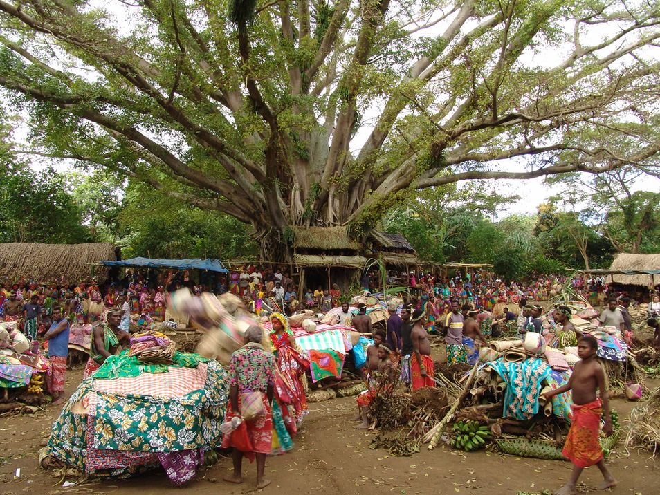 Boys circumcision celebrations on Tanna island – Photo © whl.travel