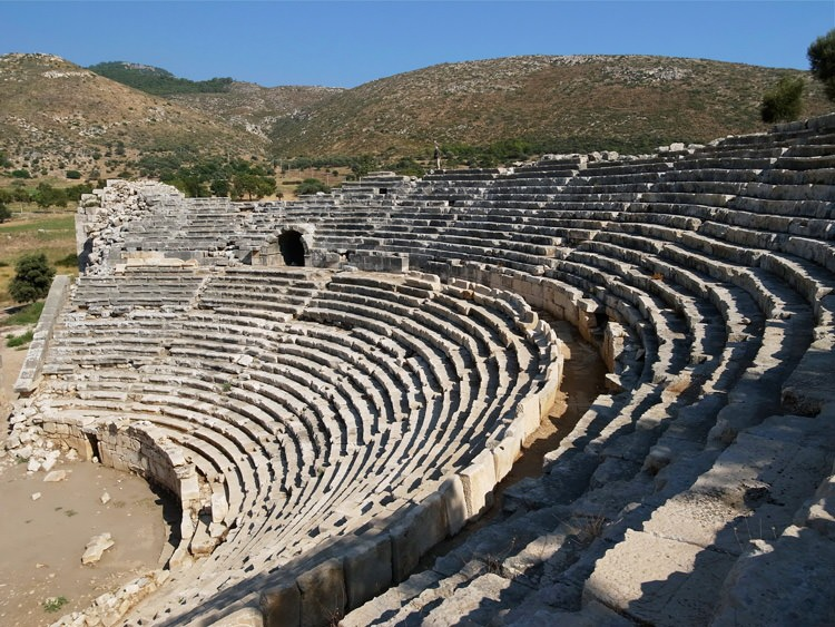 Théâtre de Patara, Turquie