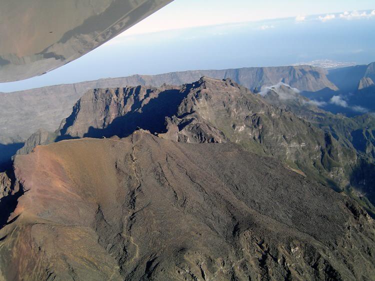 Autour du Piton des Neiges, ULM, La Réunion