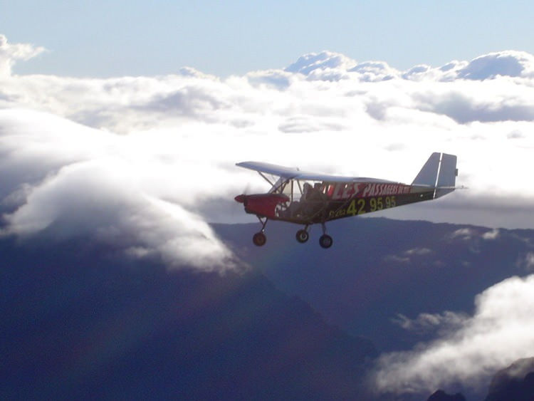 Survol de La Réunion en ULM