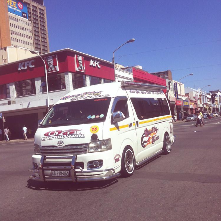 Taxi collectif, Durban