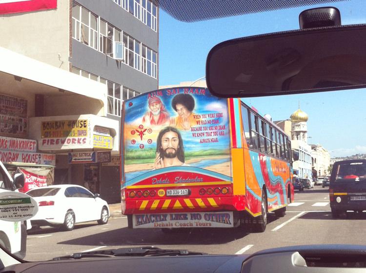 Bus à Durban