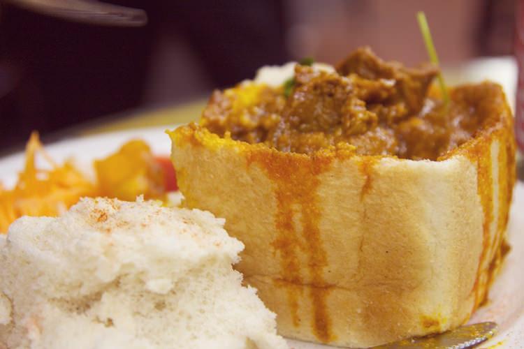 Bunny chow, Durban