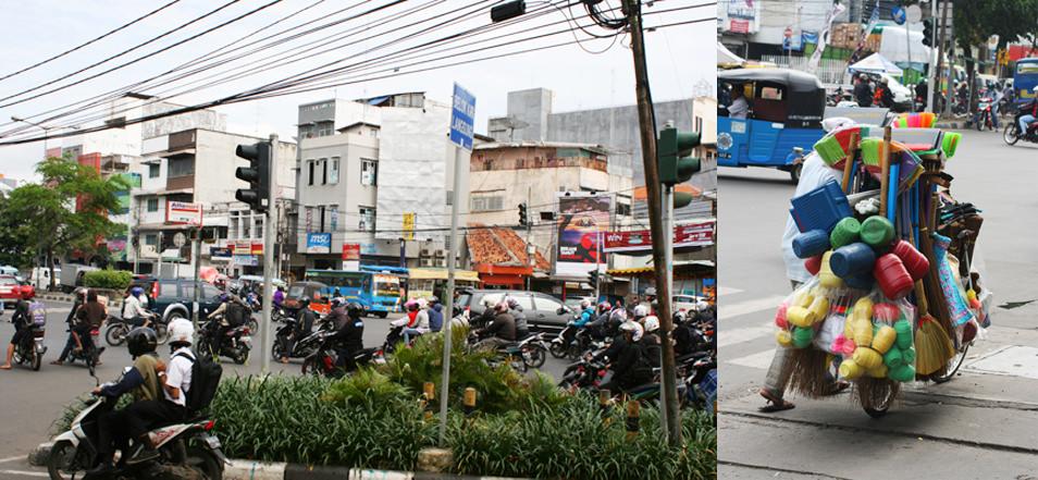 Busy Jakarta, Indonésie