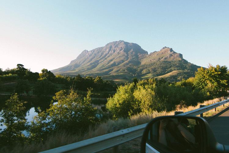 Route des vins, Cape Town, Afrique du Sud