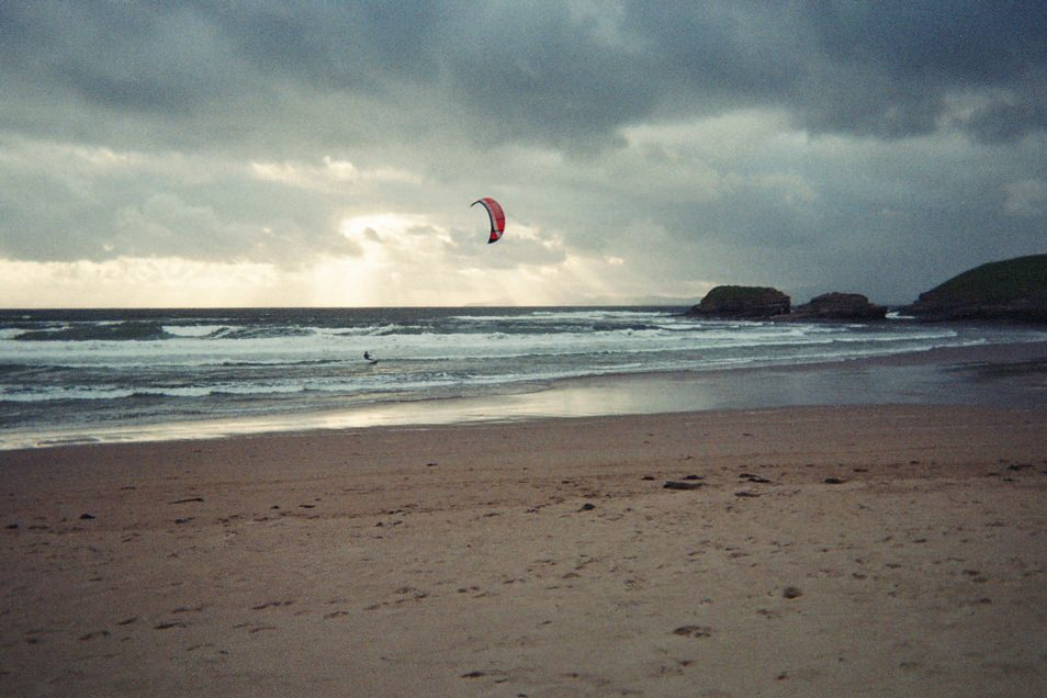 Kite surf, Bundoran, Irlande