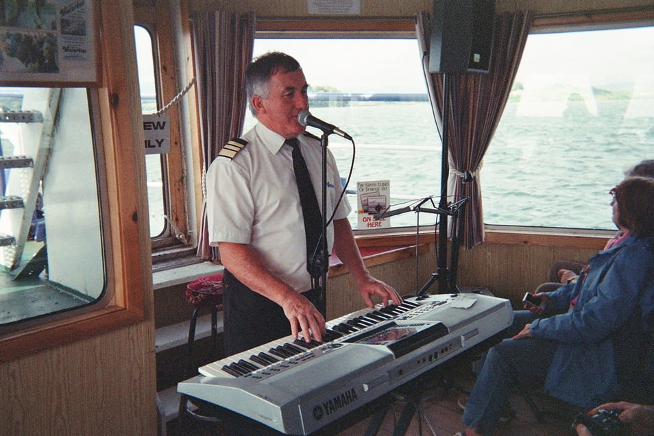 Donegal Bay Waterbus, Irish coffees