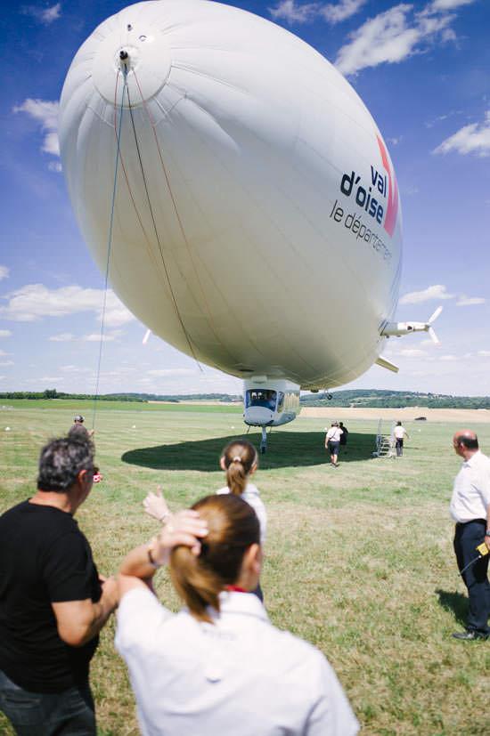 Zeppelin : ballon dirigeable à Paris
