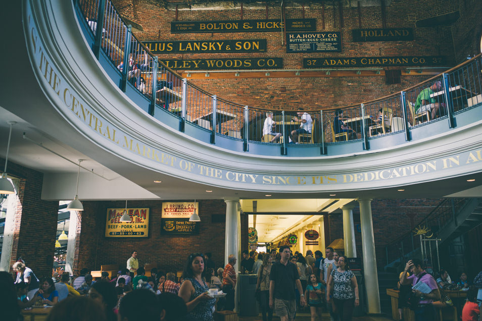 Faneuil hall marketplace, Boston USA