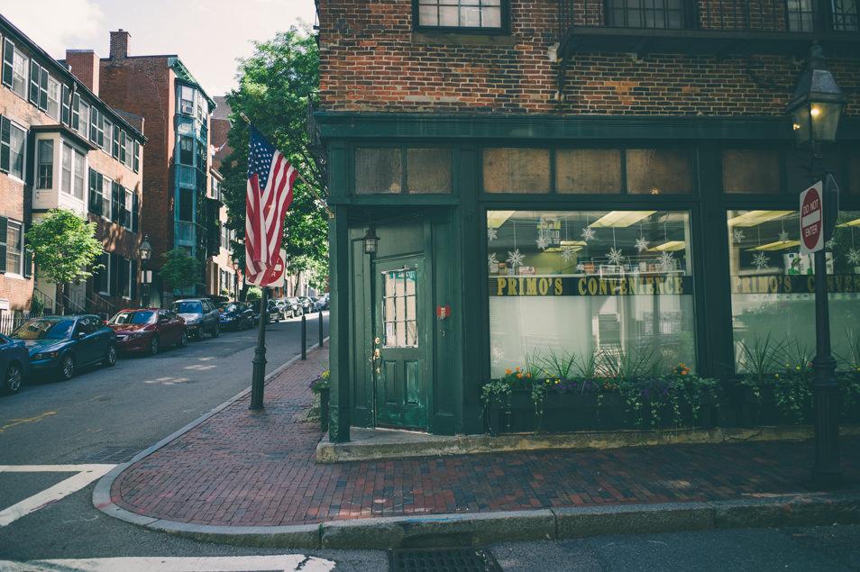 Beacon Hill, Boston USA