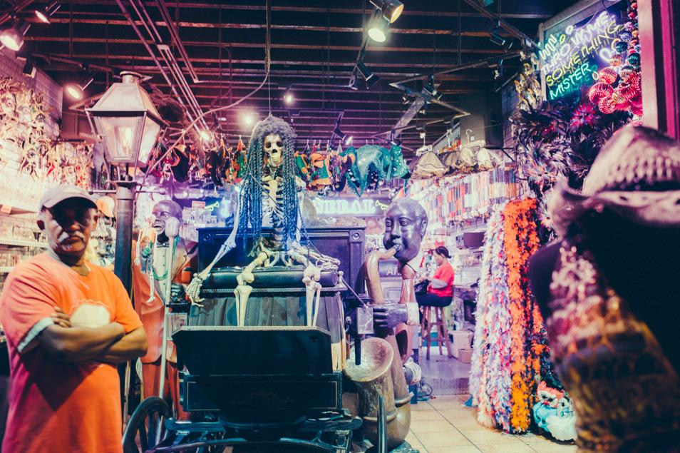 Nighlife in Bourbon Street, New Orleans