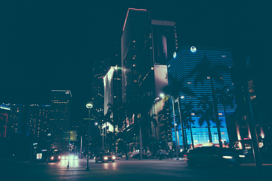 Downtown Miami, Floride