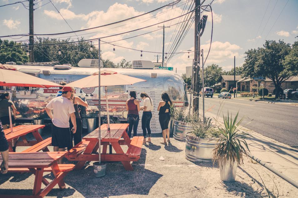 Food truck, Austin, Texas
