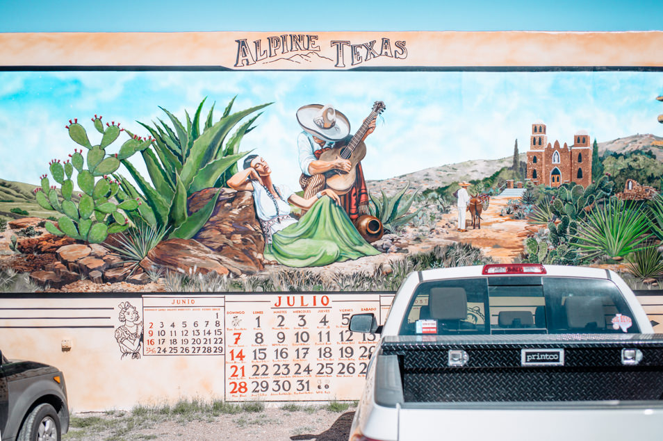 Road trip Alpine, Texas